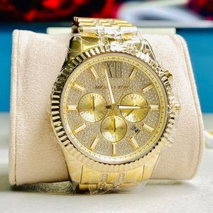 Michael Kors MK8579 Crystal Lexington Men's Watch